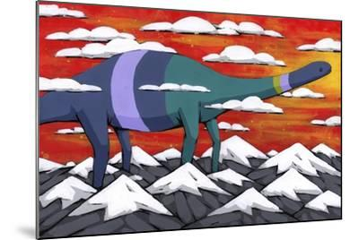 His Legend Only Grew-Ric Stultz-Mounted Giclee Print