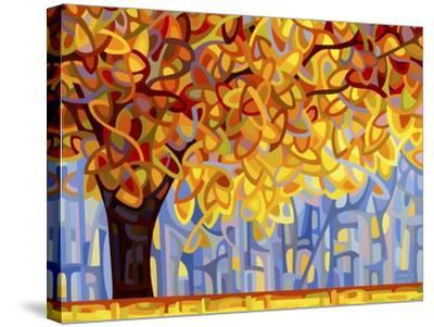 October Gold-Mandy Budan-Stretched Canvas Print