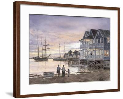 Nantucket Sunset-Stanton Manolakas-Framed Giclee Print
