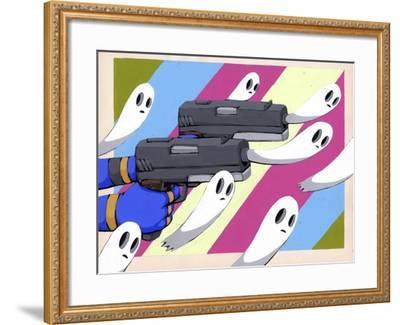 Making New Ghosts-Ric Stultz-Framed Giclee Print