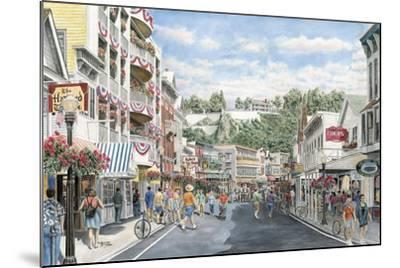 Main St.: Mackinaw-Stanton Manolakas-Mounted Giclee Print