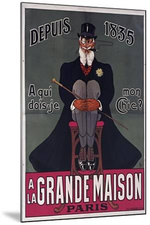 Grand Maison Paris-Vintage Apple Collection-Mounted Giclee Print