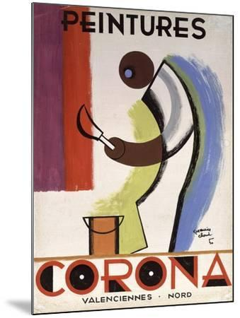 Corona Paint-Vintage Apple Collection-Mounted Giclee Print
