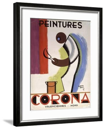 Corona Paint-Vintage Apple Collection-Framed Giclee Print