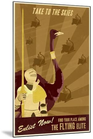 The Flying Elite-Steve Thomas-Mounted Giclee Print