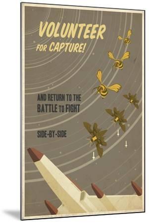 Volunteer for Capture-Steve Thomas-Mounted Giclee Print
