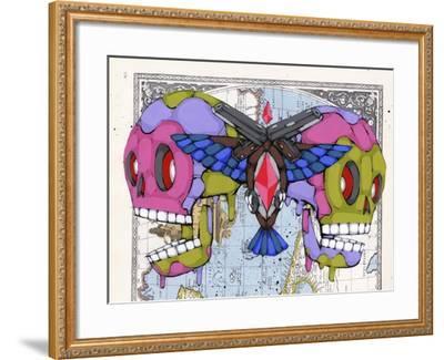 Death Grips-Ric Stultz-Framed Giclee Print