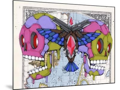 Death Grips-Ric Stultz-Mounted Giclee Print