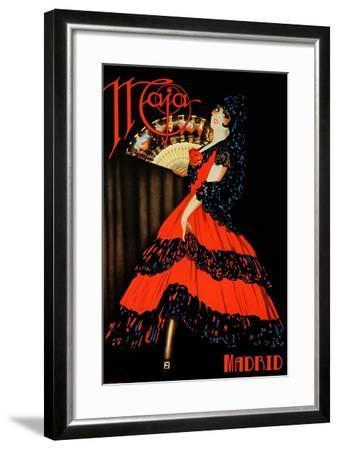 Naja Madrid-Vintage Apple Collection-Framed Giclee Print