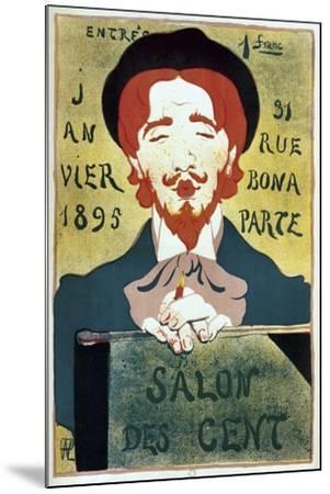 Salon Des Cent Artist-Vintage Apple Collection-Mounted Giclee Print