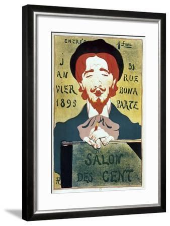 Salon Des Cent Artist-Vintage Apple Collection-Framed Giclee Print