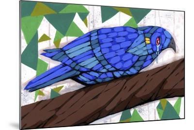 Bluest Bird-Ric Stultz-Mounted Giclee Print
