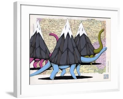 Born To Move Mountains-Ric Stultz-Framed Giclee Print