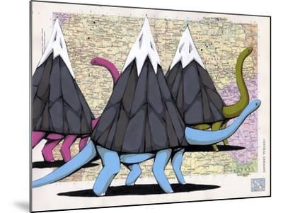 Born To Move Mountains-Ric Stultz-Mounted Giclee Print