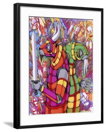 Personality Differences-Ric Stultz-Framed Giclee Print