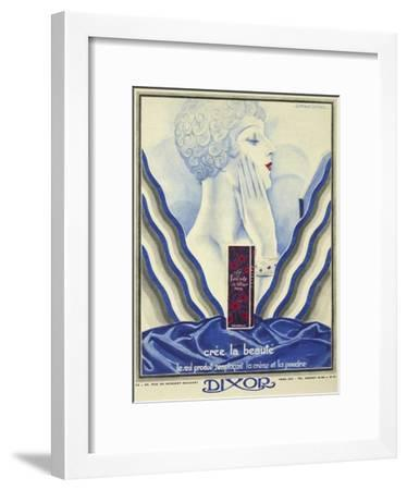 Beauty Cream-Vintage Apple Collection-Framed Giclee Print