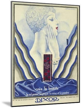 Beauty Cream-Vintage Apple Collection-Mounted Giclee Print