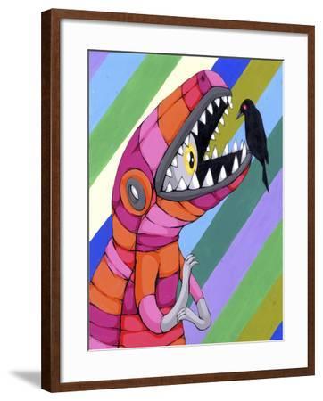 Fear Inside A Tough Exterior-Ric Stultz-Framed Giclee Print