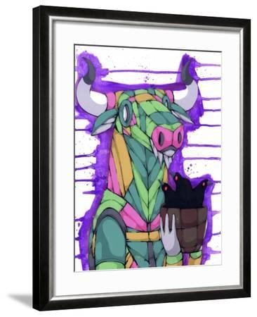 Gentle Giant-Ric Stultz-Framed Giclee Print