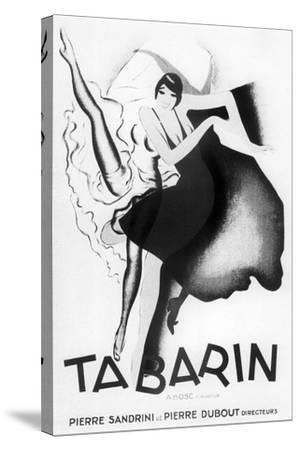 Tabarin Art Deco-Vintage Apple Collection-Stretched Canvas Print