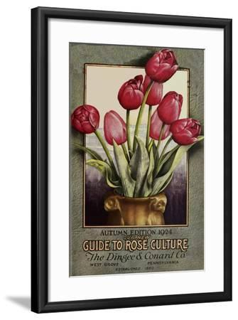 Red Roses-Vintage Apple Collection-Framed Giclee Print