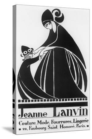 Jeanne Lanvin-Vintage Apple Collection-Stretched Canvas Print