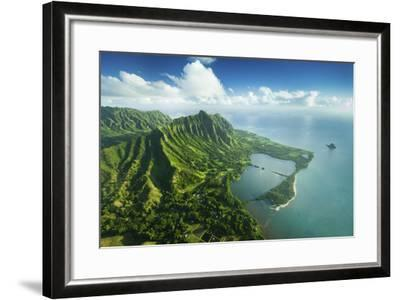 Hale Molii Fishpond-Cameron Brooks-Framed Photographic Print