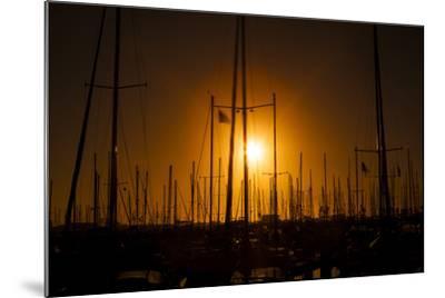 Mast Sunset-Chris Moyer-Mounted Photographic Print