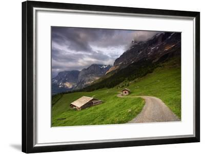 Under The Clouds-Istv?n Nagy-Framed Photographic Print
