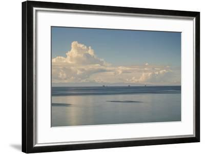 Oil Rig Backdrop-Chris Moyer-Framed Photographic Print