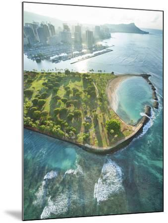 Magic Island Vertical-Cameron Brooks-Mounted Photographic Print
