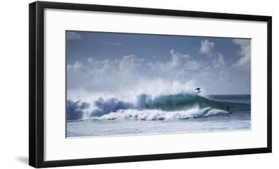 Pipeline Surfer-Cameron Brooks-Framed Photographic Print