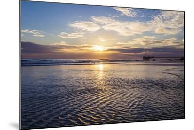 Cool Ripples-Chris Moyer-Mounted Photographic Print