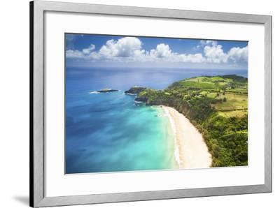 Kauai Lighthouse Beach-Cameron Brooks-Framed Photographic Print