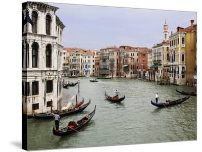 Venice Canal-Chris Bliss-Stretched Canvas Print