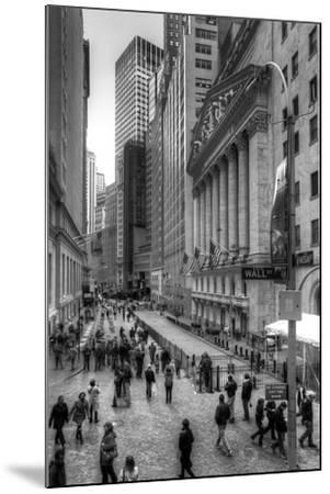 Wall Street-Chris Bliss-Mounted Photographic Print