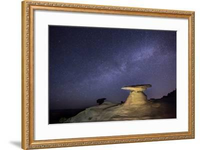 Starry Night in Arizona III-Moises Levy-Framed Photographic Print