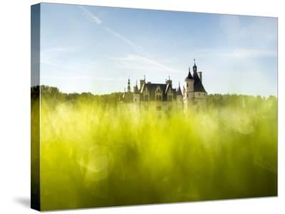Chenonceau-Mathieu Rivrin-Stretched Canvas Print