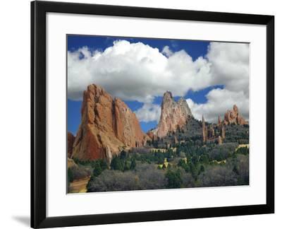 Garden of the Gods, Colorado Springs, Colorado 96-Monte Nagler-Framed Photographic Print