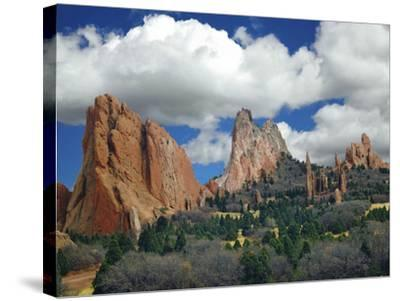 Garden of the Gods, Colorado Springs, Colorado 96-Monte Nagler-Stretched Canvas Print