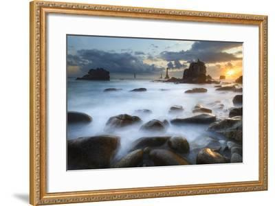 Land Of Waves-Mathieu Rivrin-Framed Photographic Print