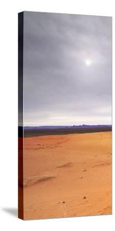 Monument Valley Panorama 1 1 of 3-Moises Levy-Stretched Canvas Print
