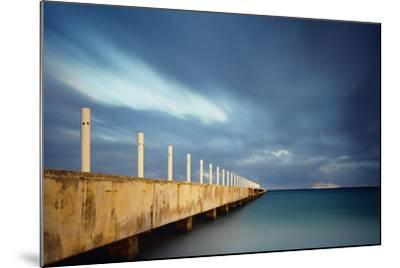 Muelle Playa 1 Color-Moises Levy-Mounted Photographic Print