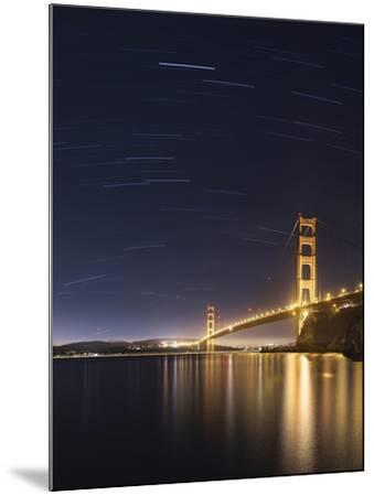 Golden Gate and Stars-Moises Levy-Mounted Photographic Print