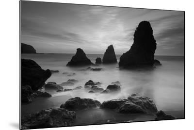 Rodeo Beach I, Black and White-Moises Levy-Mounted Photographic Print