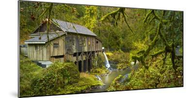 Cedar Creek Grist Mill-Moises Levy-Mounted Photographic Print