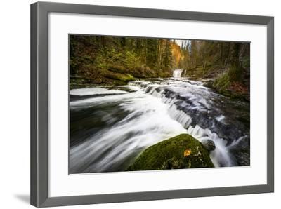 Autumn In Jura-Mathieu Rivrin-Framed Photographic Print