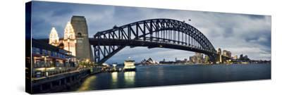 Sydney Harbour-SD Smart-Stretched Canvas Print