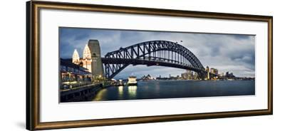 Sydney Harbour-SD Smart-Framed Photographic Print