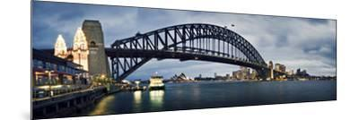 Sydney Harbour-SD Smart-Mounted Photographic Print